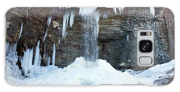 Stony Kill Falls In February #2 Galaxy Case by Jeff Severson