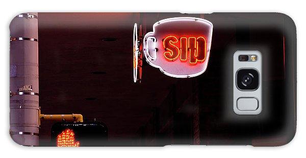 Stop And Sip Galaxy Case