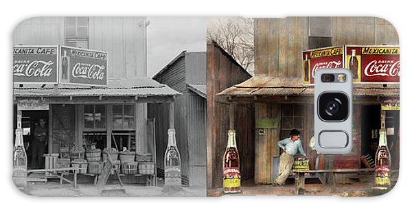 Store - Grocery - Mexicanita Cafe 1939 - Side By Side Galaxy Case by Mike Savad