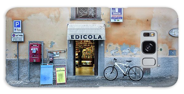 Storefront In Rome Galaxy Case