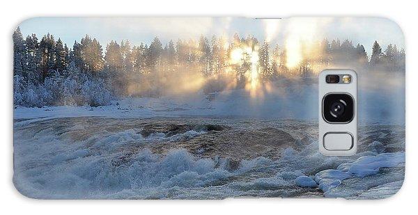 Storforsen, Biggest Waterfall In Sweden Galaxy Case
