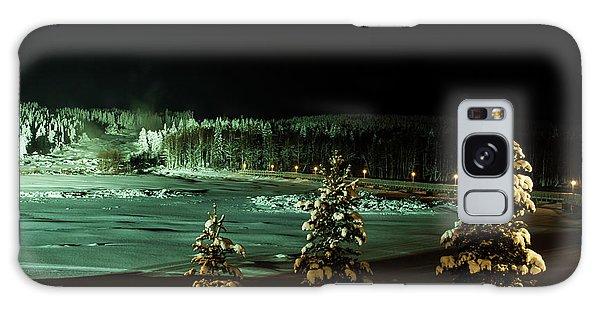 Storforsen In Night Galaxy Case by Tamara Sushko