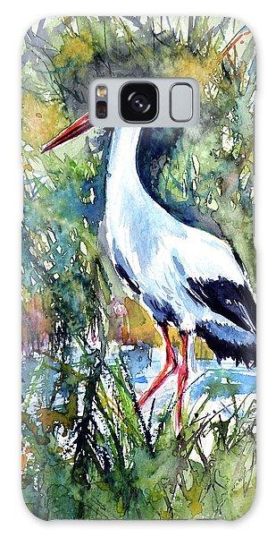 Stork Galaxy S8 Case - Stork by Kovacs Anna Brigitta