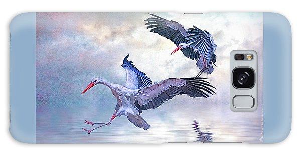 Storks Landing Galaxy Case