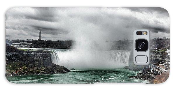Storm At Niagara Galaxy Case