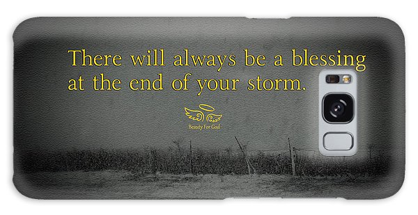 Storm Blessings Galaxy Case