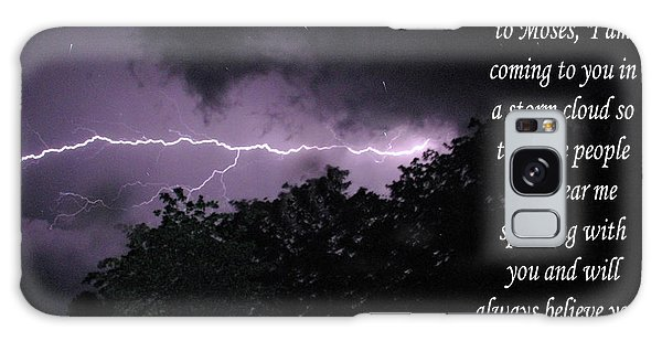 Storm Cloud Galaxy Case by Robyn Stacey