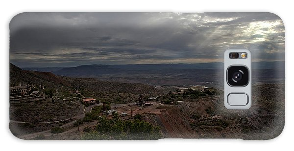 Storm Clouds And Suns Rays Jerome Az Galaxy Case