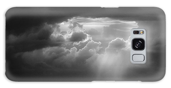 Galaxy Case featuring the photograph Storm Clouds Clearing by Michael Hubley