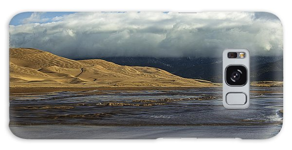 Storm Clouds Great Sand Dunes National Park Galaxy Case