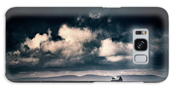 Storm Clouds In Iceland Galaxy Case