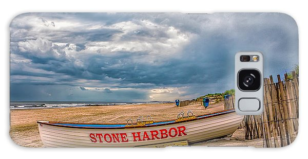 Storm Clouds In Stone Harbor Galaxy Case