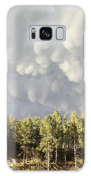 Storm Clouds Galaxy Case