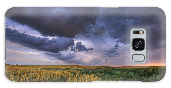 Storm Clouds Over Barley Galaxy Case