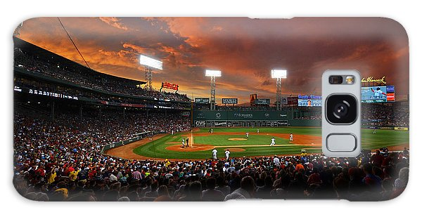 Storm Clouds Over Fenway Park Galaxy Case