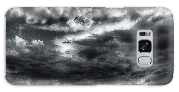 Storm Clouds Ventura Ca Pier Galaxy Case by John A Rodriguez