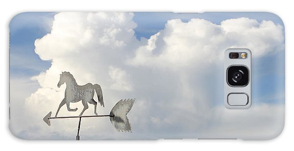 Storm Clouds Weather Vane Galaxy Case