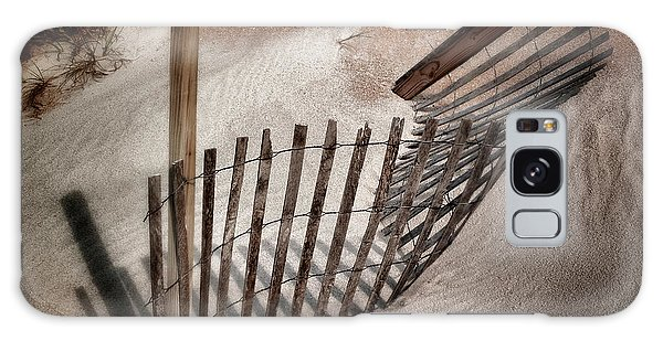 Storm Fence Series No. 2 Galaxy Case by John Pagliuca