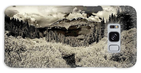 Storm In The Highlands, Summit County, Colorado Galaxy Case