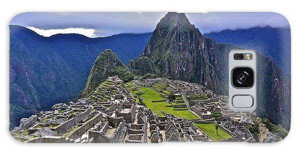 Storm Inbound To Machu Picchu Galaxy Case