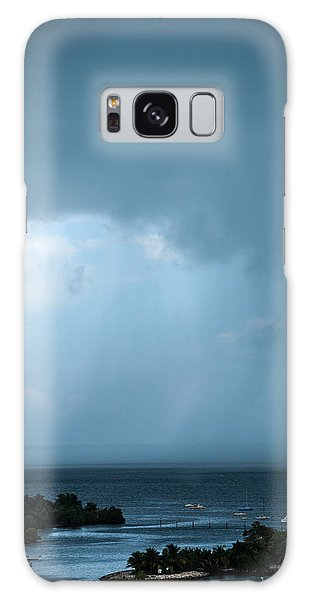 Storm On The Bay Galaxy Case
