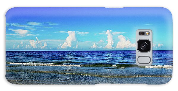 Galaxy Case featuring the photograph Storm On The Horizon by Gary Wonning