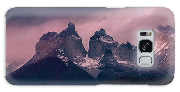 Storm On The Peaks Galaxy Case by Andrew Matwijec