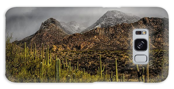 Storm Over Catalinas 15 Galaxy Case