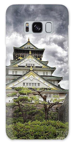 Kansai Galaxy Case - Storm Over Osaka Castle by Jane Rix