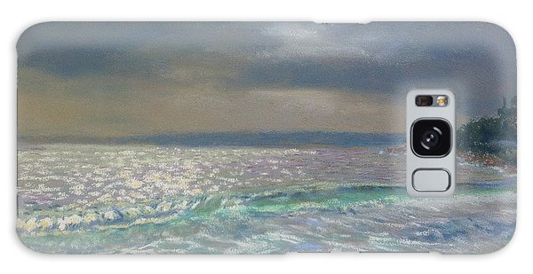 Storm Over Queensland Beach ,nova Scotia Galaxy Case by Rae  Smith PAC