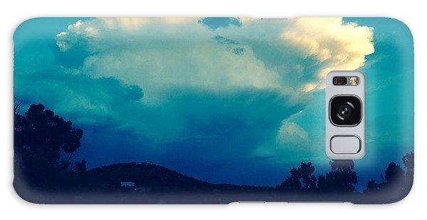 Storm Over Santa Fe Galaxy Case