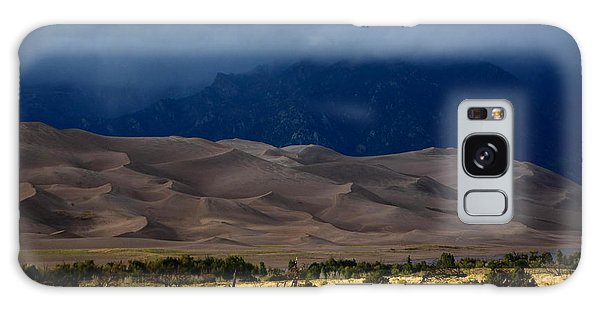 Storm Over The Great Dunes Colorado  Galaxy Case
