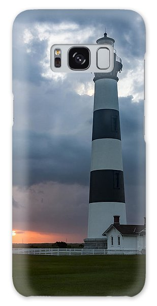 Storm Passes Bodie Island Lighthouse Galaxy Case