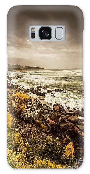Stone Wall Galaxy Case - Storm Season by Jorgo Photography - Wall Art Gallery