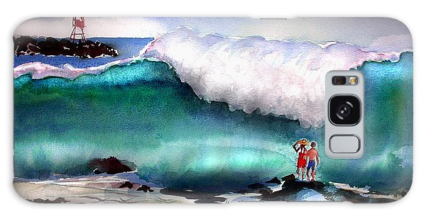 Storm Surf Moment Galaxy Case