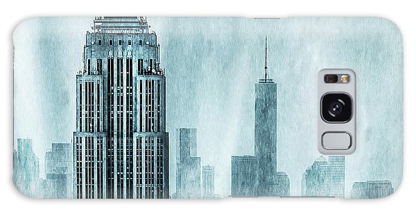 Empire State Building Galaxy S8 Case - Storm Troopers by Az Jackson