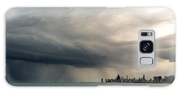 Storms Over Chicago Galaxy Case