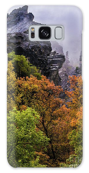 Stormy American Fork Canyon - Wasatch - Utah Galaxy Case