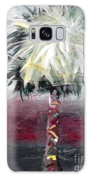 Stormy Horizons Palm Tree Galaxy Case
