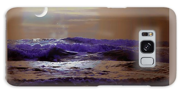 Galaxy Case featuring the photograph Stormy Night by Aaron Berg