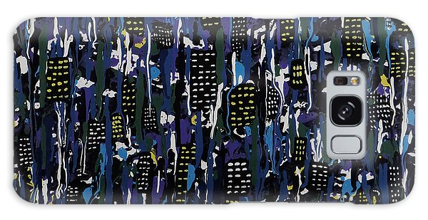Stormy Night In The City Galaxy Case