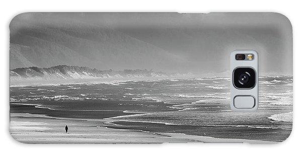 Stormy Oceanside Oregon Galaxy Case