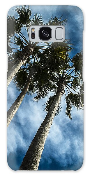 Stormy Palms 1 Galaxy Case
