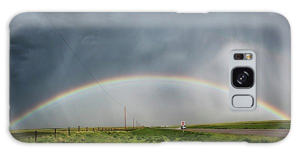 Stormy Rainbow Galaxy Case by Ryan Crouse