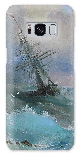 Stormy Sails Galaxy Case