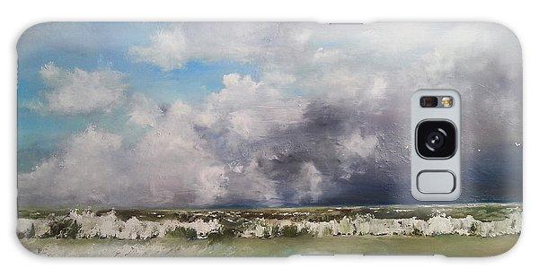 Stormy Sea Galaxy Case by Maja Sokolowska