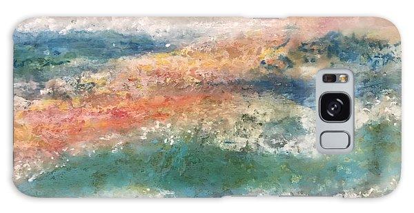 Stormy Seas Galaxy Case by Kim Nelson