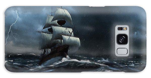 Stormy Seas - Nautical Art Galaxy Case
