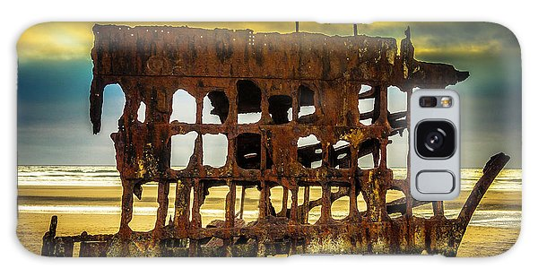 Peter Iredale Galaxy Case - Stormy Shipwreck by Garry Gay