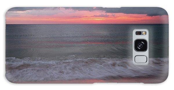 Stormy Sunset Galaxy Case
